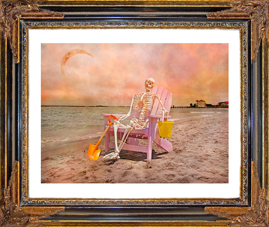 Sam On The Sound Photograph  - Sam On The Sound Fine Art Print