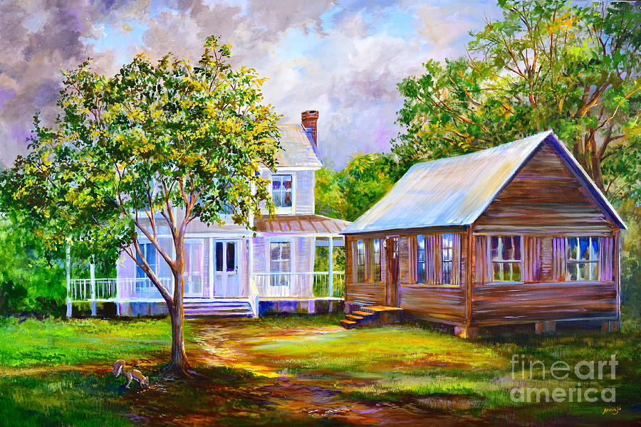 Sams Place Painting  - Sams Place Fine Art Print