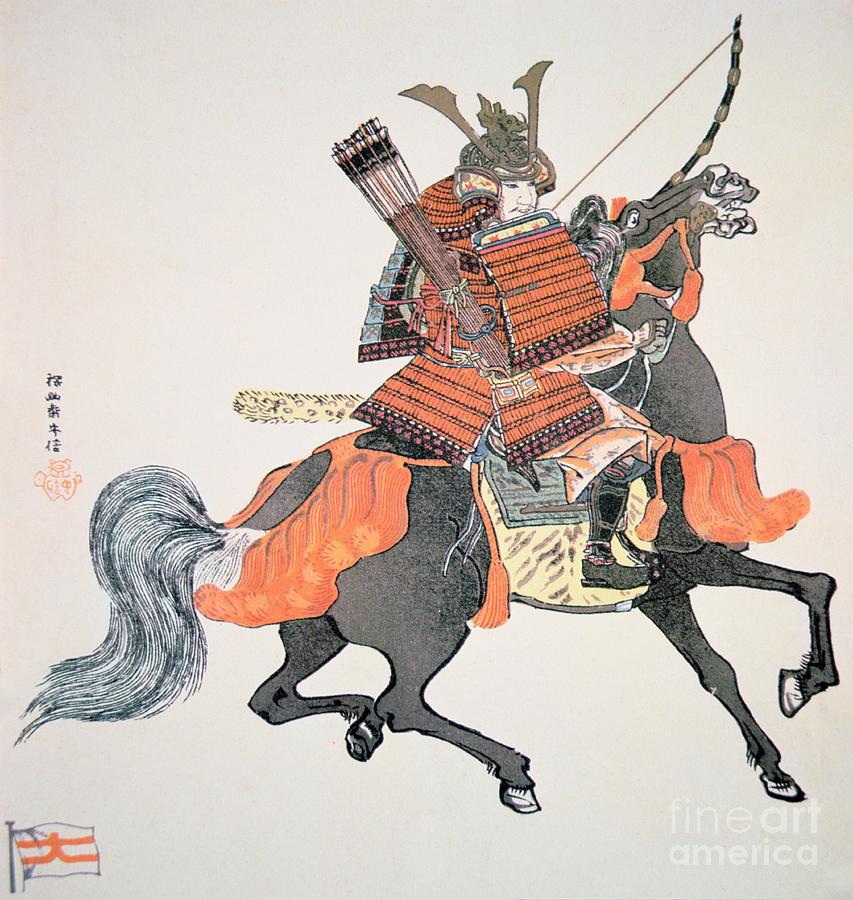 Japan Painting - Samurai by Japanese School