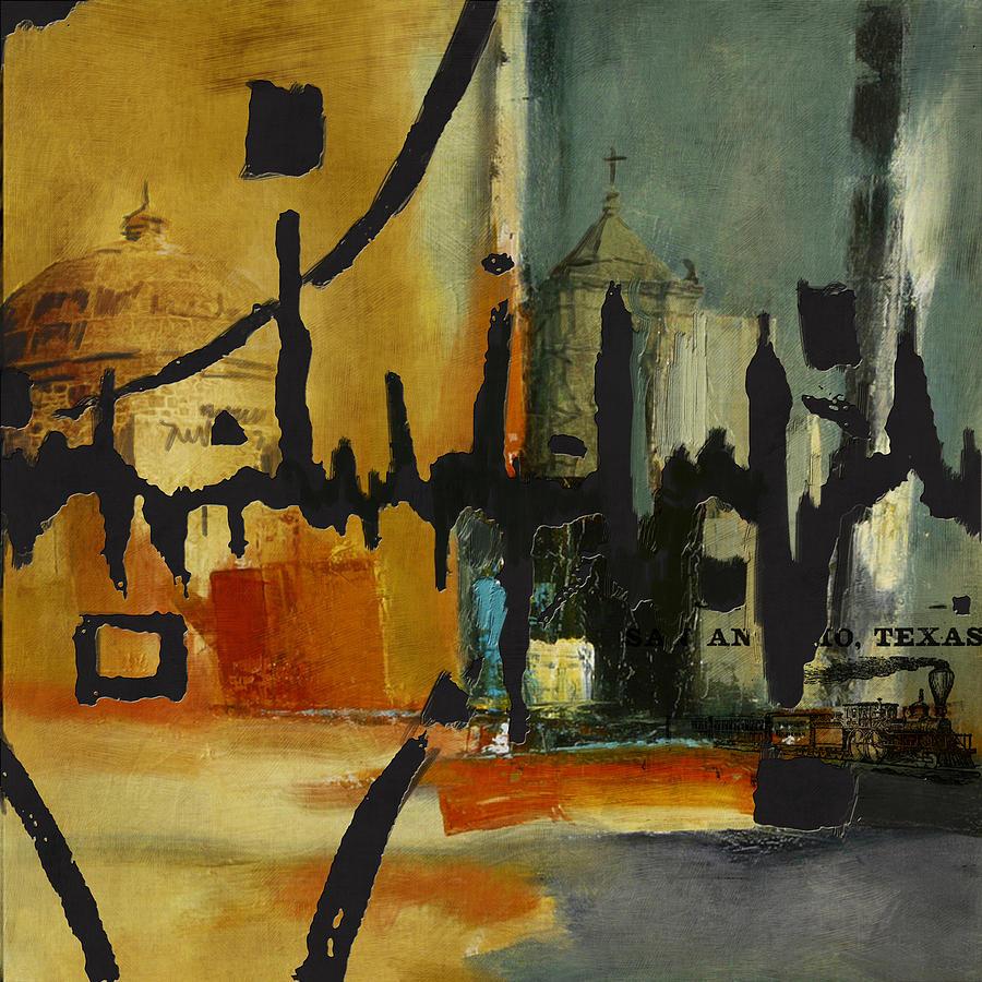 San Antonio 003 B Painting