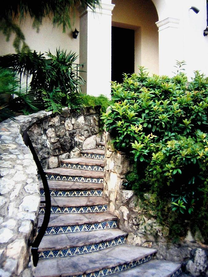 San Antonio Stairway Photograph