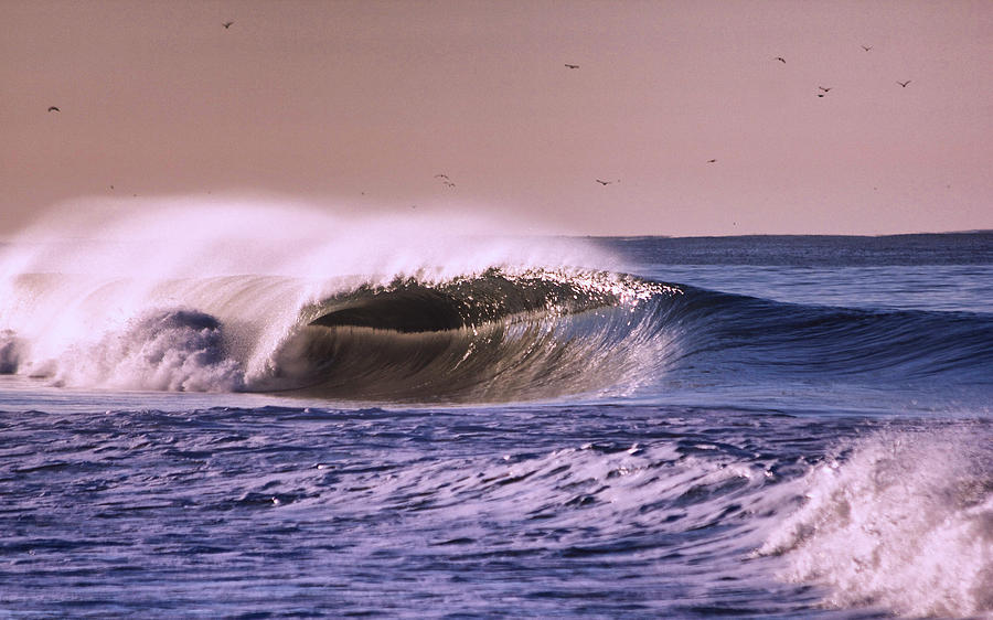 State Park Photograph - San Clemente Wave by Bob Hasbrook
