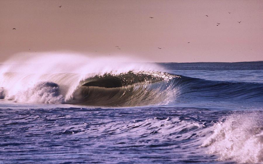 San Clemente Wave Photograph