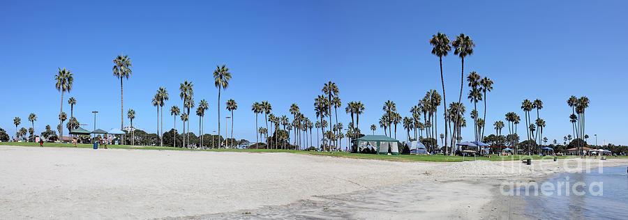 San Diego Photograph - San Diego Panoramic by Tony Cordoza