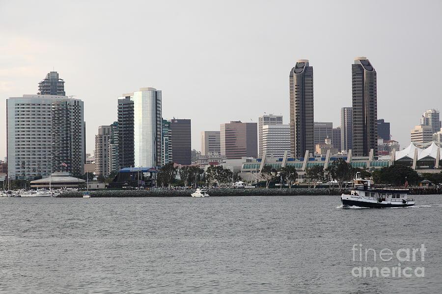 San Diego Skyline 5d24380 Photograph