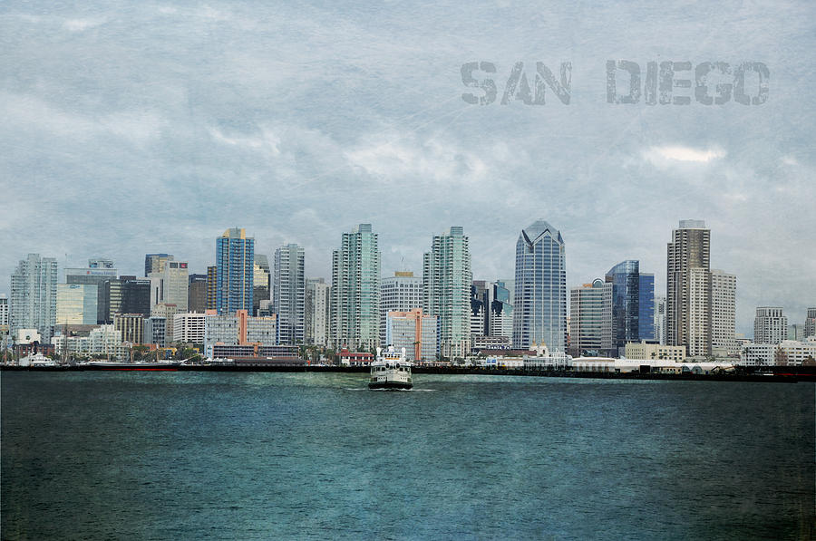 Landscape Photograph - San Diego  by Sofia Walker