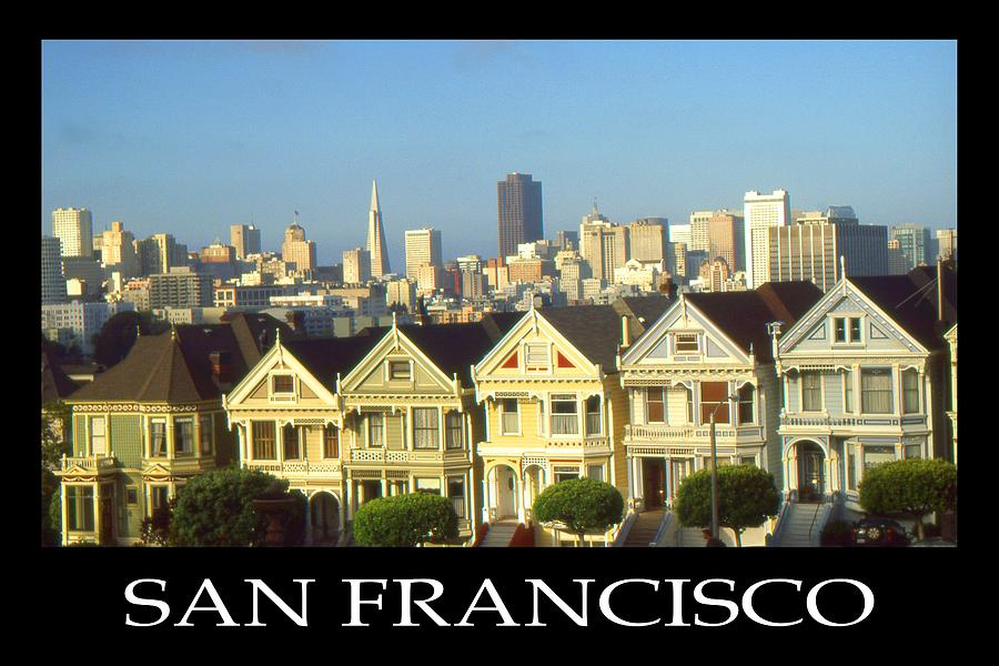 San Francisco California Poster Photograph