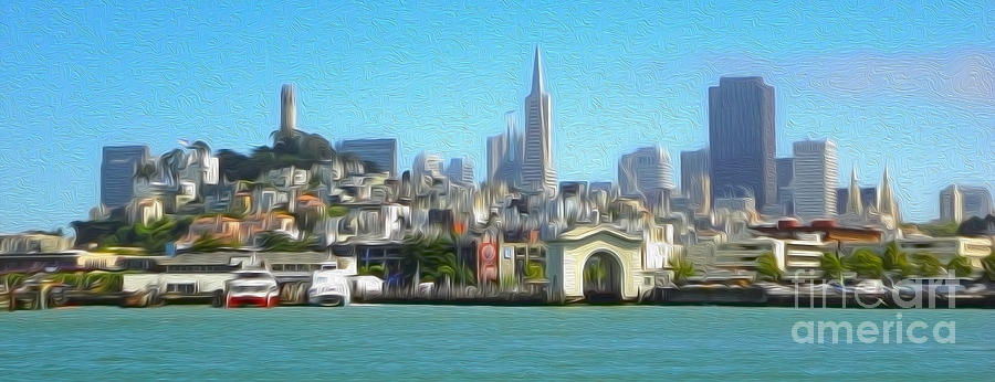 San Francisco - Cityscape - 01 Painting