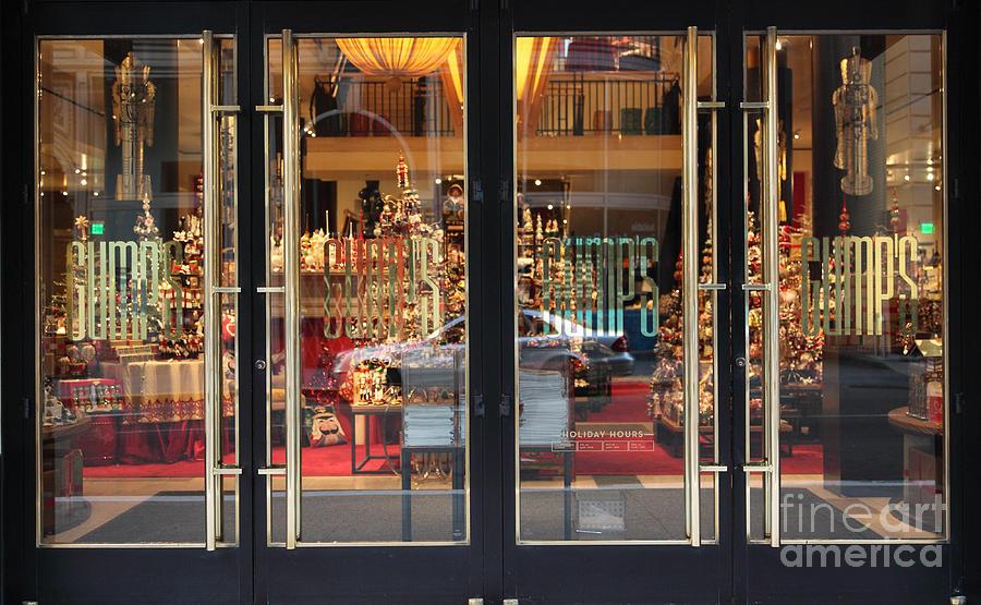 San Francisco Gumps Store Doors - 5d20585 Photograph