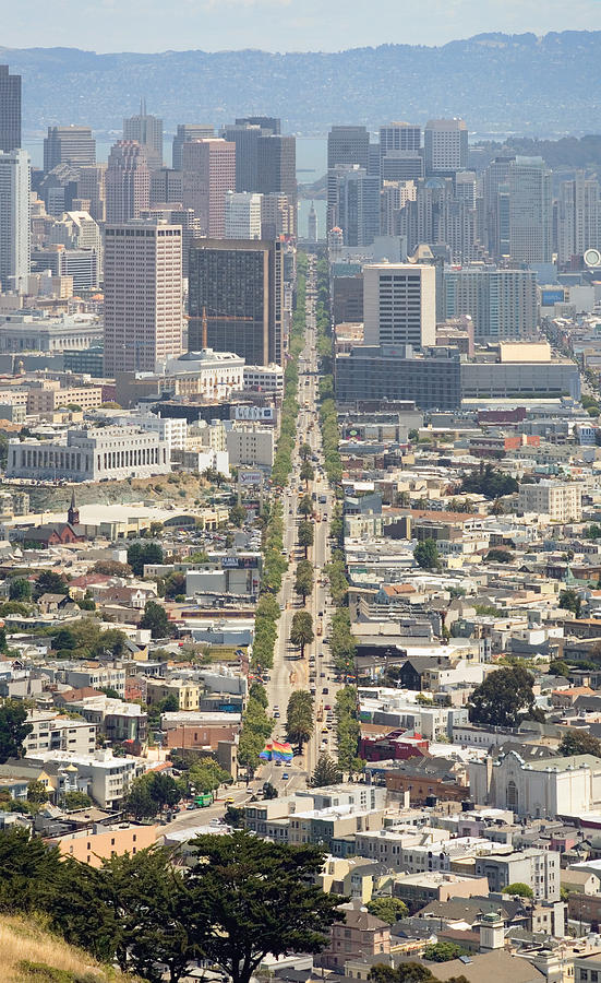 San Francisco - Market Street - Castro To Embarcadero Photograph