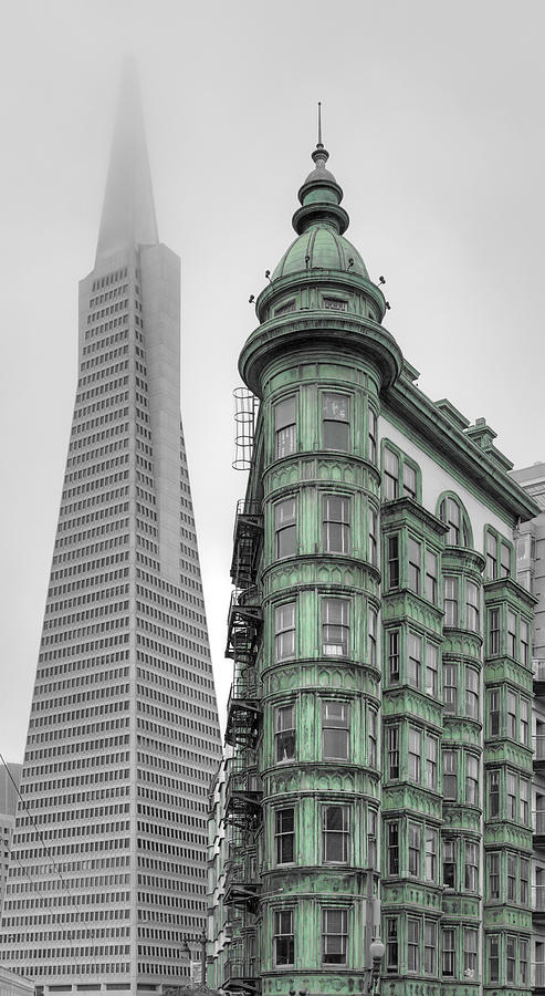 San Francisco - Modern Vs Classic Photograph