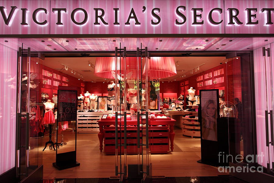 San Francisco Victorias Secret Store - 5d20652 Photograph  - San Francisco Victorias Secret Store - 5d20652 Fine Art Print