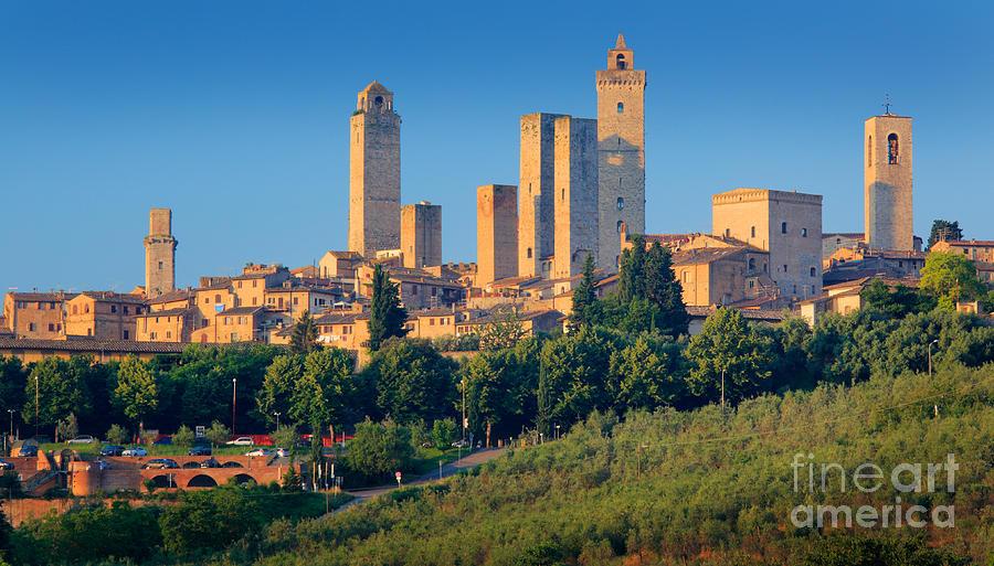 San Gimignano Skyline Photograph