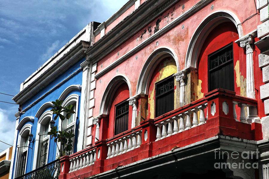 San Juan Balcony Photograph