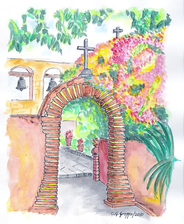 San Juan Capistrano Mission - California Painting