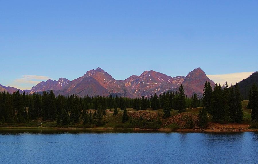 San Juan Mountain Range Photograph