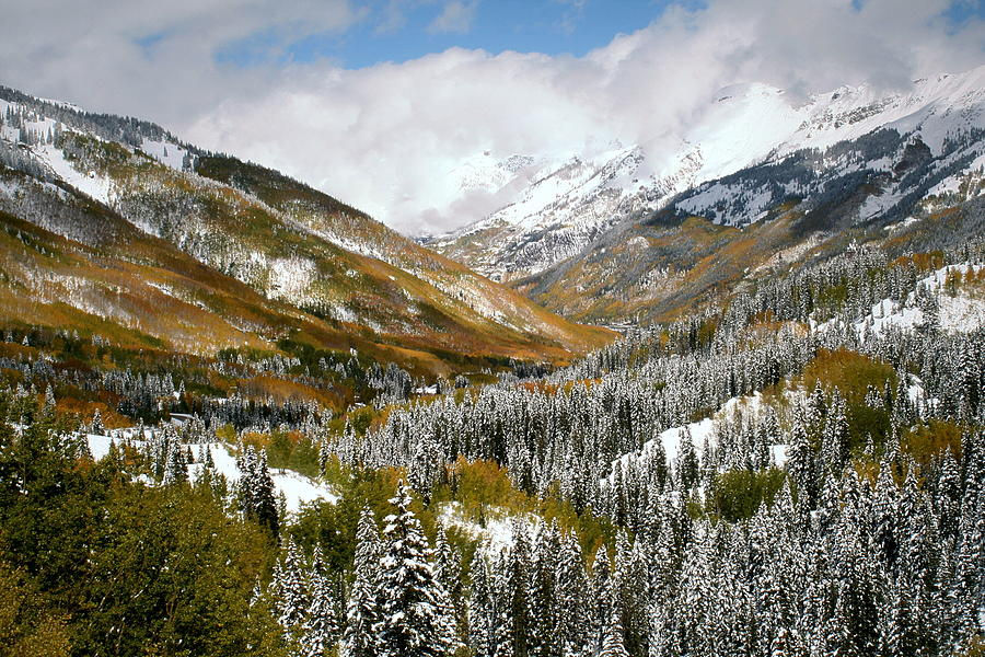 San Juan Mountains After Recent Snowstorm Photograph  - San Juan Mountains After Recent Snowstorm Fine Art Print