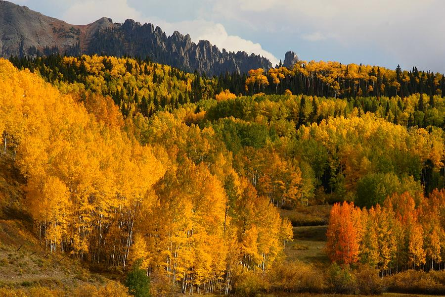San Juan Mountains In Autumn Photograph