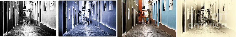 San Juan Tones Collage Photograph