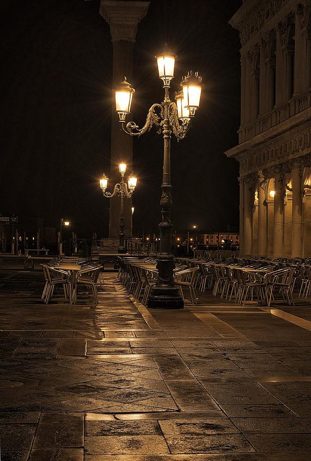 San Marco Cafe Photograph