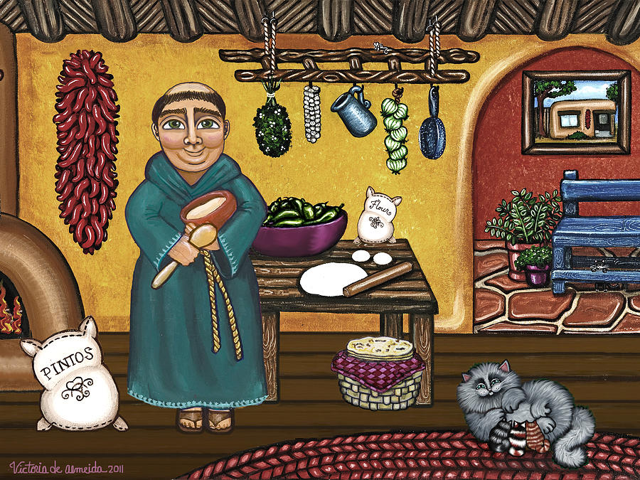 San Pascuals Kitchen Painting  - San Pascuals Kitchen Fine Art Print