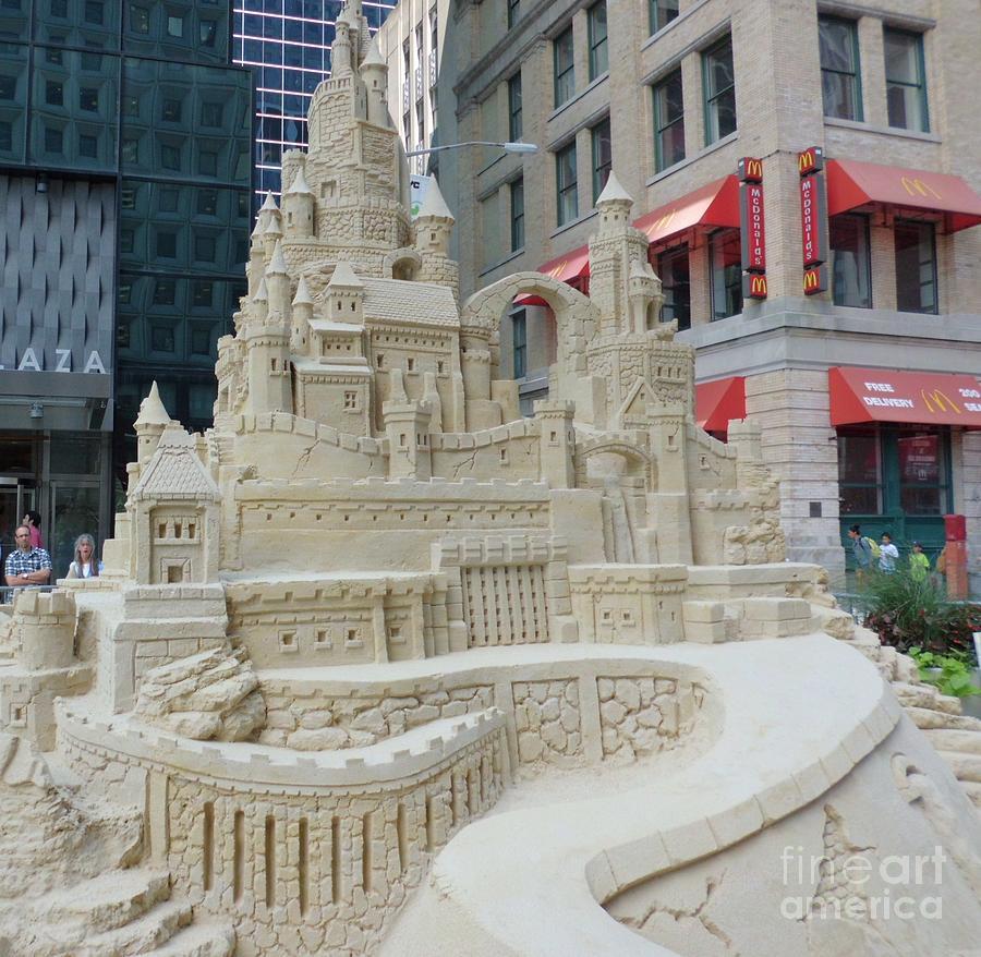 Sand Castle Photograph