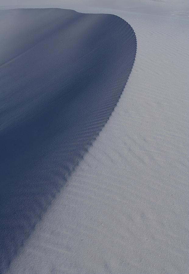Sand Dunes At White Sands National Monument Photograph