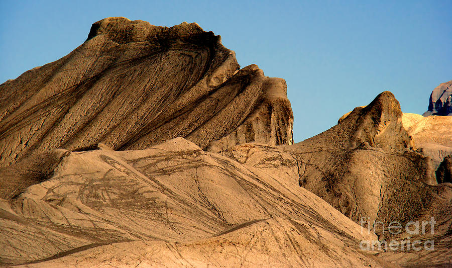 Sand Dunes In Capital Reef Photograph