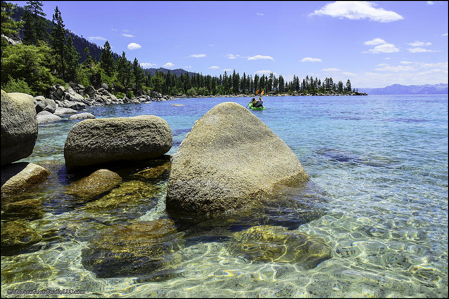 Sand Harbor Lake Tahoe Photograph  - Sand Harbor Lake Tahoe Fine Art Print