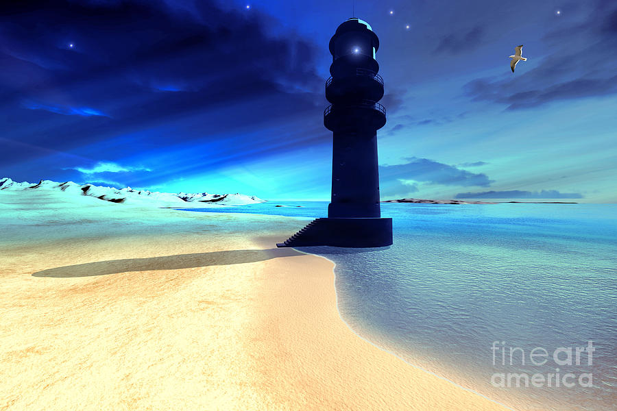 Sand Island Light Painting