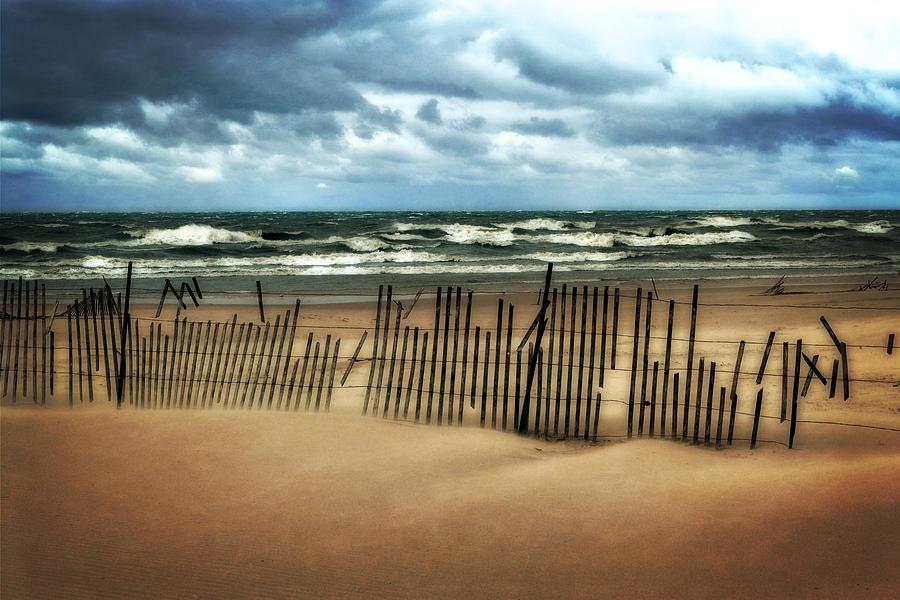 Sandblasted Photograph