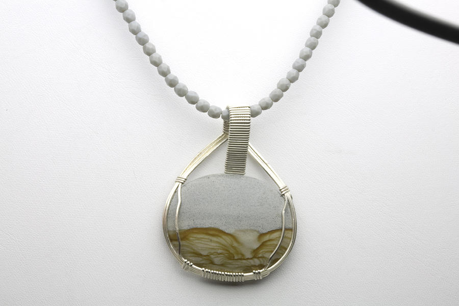 Sandstone Necklace Jewelry  - Sandstone Necklace Fine Art Print