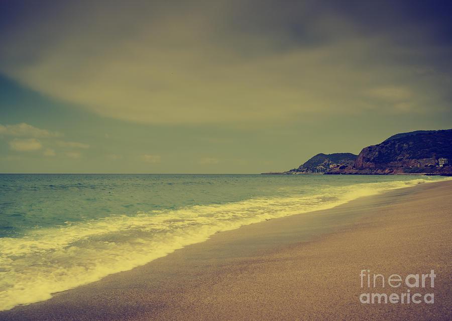 Sandy Beach Photograph