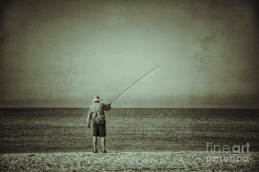 Sanibel Fisherman Photograph