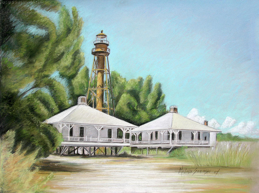 Sanibel Lighthouse Painting