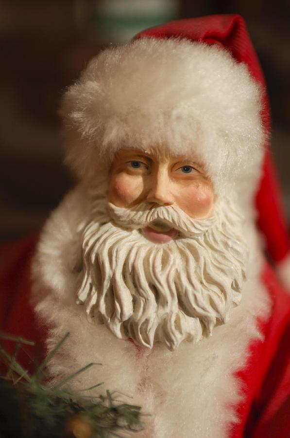 Santa Claus - Antique Ornament - 07 Photograph