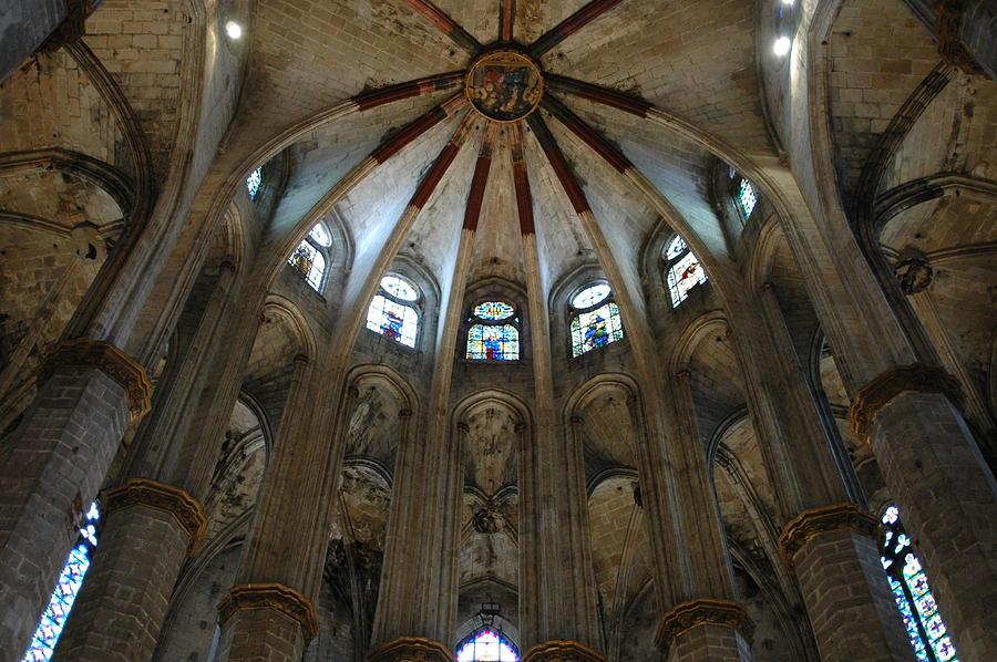 Santa Maria Del Mar Basilica I Photograph