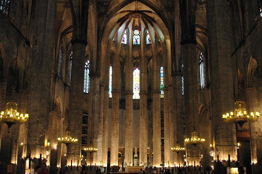 Santa Maria Del Mar Basilica II Photograph