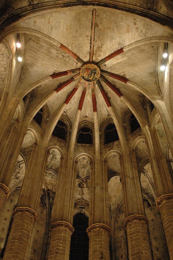 Santa Maria Del Mar Basilica Iv Photograph