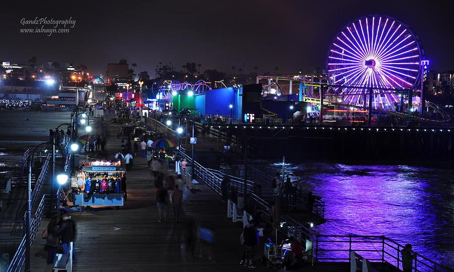 Santa Monica Pier 5 Digital Art
