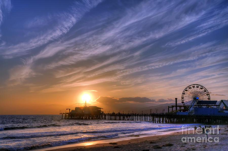 Santa Monica Pier Photograph