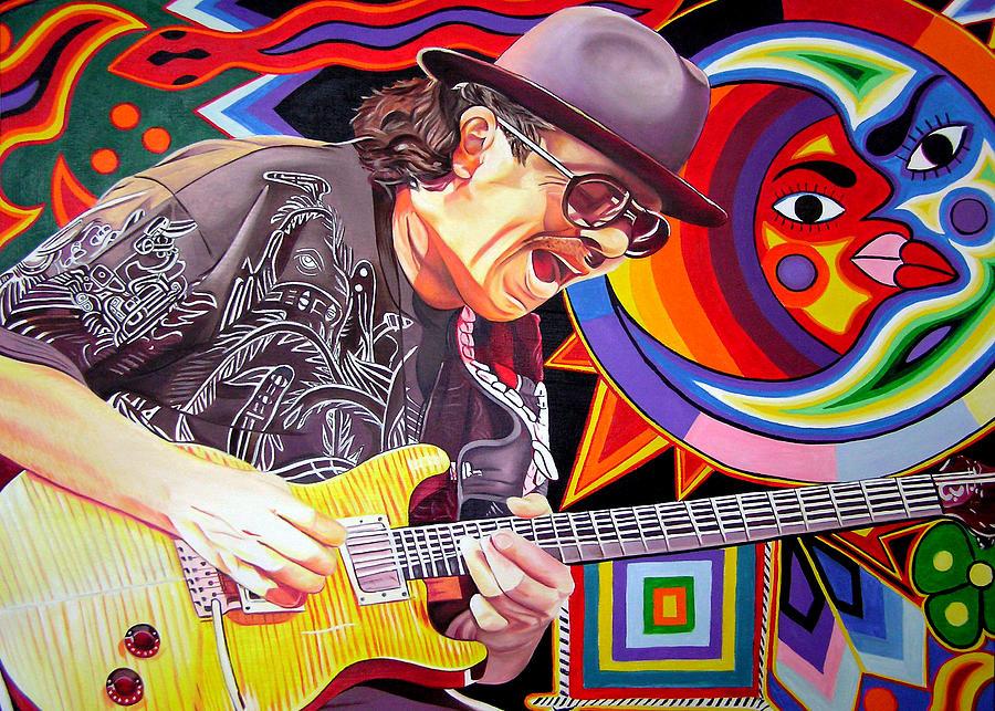 Santana Mystic Vision Painting