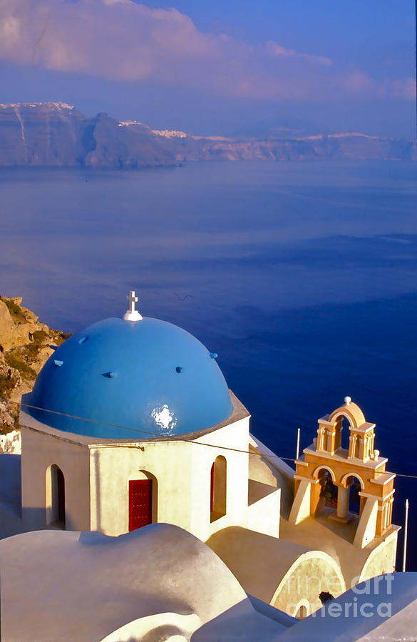 Santorini Church Photograph