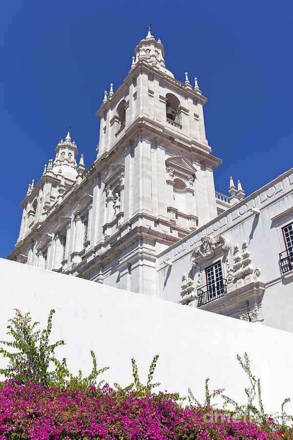 Sao Vicente De Fora Monastery Photograph