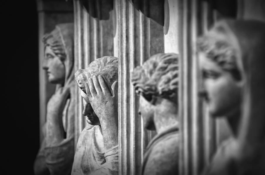 Sarcophagus Of The Crying Women II Photograph