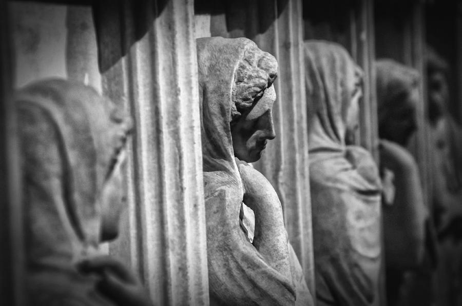 Sarcophagus Of The Crying Women Photograph  - Sarcophagus Of The Crying Women Fine Art Print