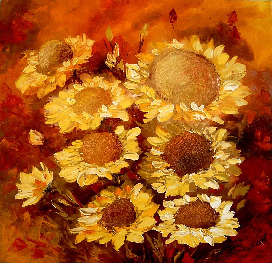 Sarutul Soarelui Painting