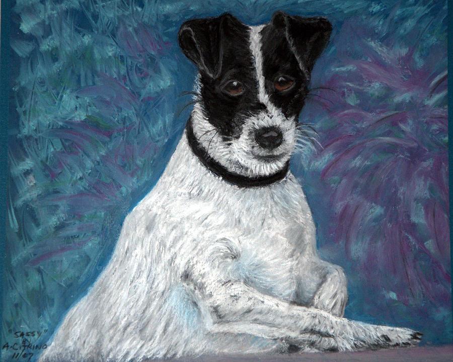 Terriers Pastel - Sassy Pastel by Antonia Citrino
