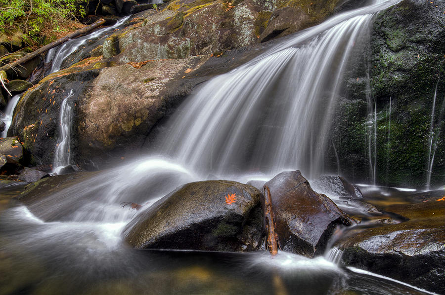 Appalachia Photograph - Sassy Waters by Debra and Dave Vanderlaan
