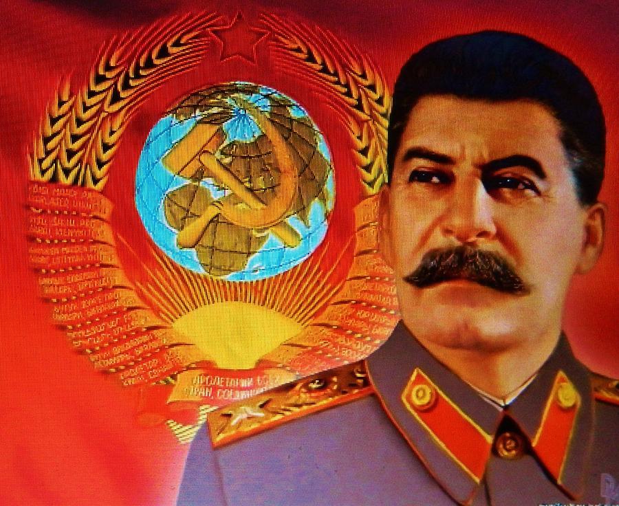 Satanic Joseph Stalin  Photograph